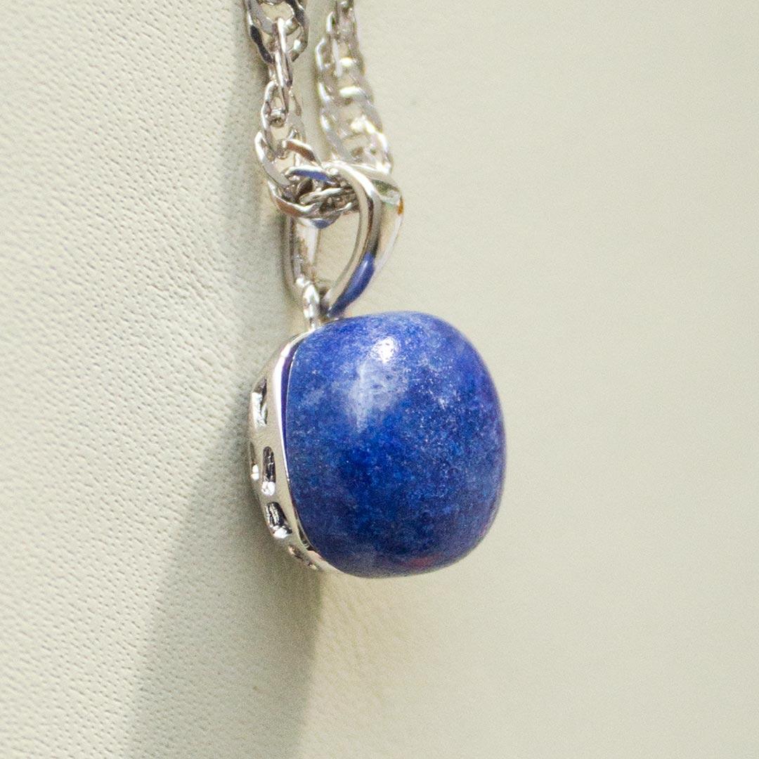 Pingente em Prata 925 com Lápis Lazuli